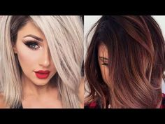 Fall 2017 & Winter 2018 Hair Color Trends and Ideas - YouTube