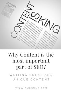 Why Content is the most important part of SEO?