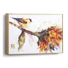 Big Sky Carvers Gold Finch Wall Art x - Roby's Hallmark Canvas Artwork, Watercolor Canvas, Poster Prints, Fine Art Painting, Painting, Painting Prints, Canvas Giclee, Painting Frames, Hummingbird Wall Art