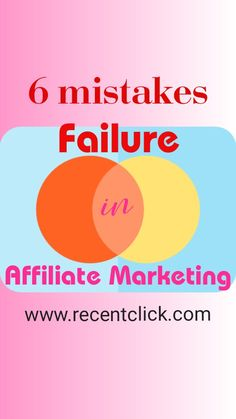 Tons of beginner are today failed in affiliate marketing just because of a few small mistakes. We will discuss how to avoid failure and bring success. Make Money On Internet, How To Make Money, Make Up Your Mind, Affiliate Marketing, Mistakes, Health And Beauty, Digital Marketing, Bring It On, Success