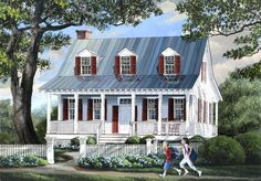 Cottage House plan 7922-00014