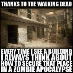 "You'll never know when this information will come in handy. I recommend everyone to at least give ""THE WALKING DEAD"" a chance and watch it. I myself said that I would never watch ""THE WALKING DEAD""it wasn't for me but then I change my mind. And now I love it."