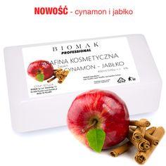 Parafina kosmetyczna / zapach cynamon - jabłko - Biomak - producent sprzętu kosmetycznego Manicure, Apple, Fruit, Food, Paraffin Wax, Nail Bar, Apple Fruit, Nails, Essen