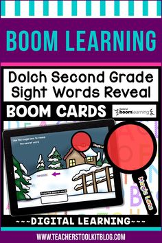 THIS IS AN INTERACTIVE DIGITAL RESOURCE. Download the preview to play a shortened version of the Boom Deck – this will help you decide if the resource is suitable for your students. ABOUT THIS BOOM DECK: This seasons-themed, 46 card deck, will help students practice and review Dolch Second Grade Sight Words in a fun and engaging way!  Students should drag the 'MAGIC LENS' over the secret word to reveal it.