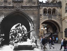 Taking old World War II photos, Russian photographer Sergey Larenkov carefully photoshops them over more recent shots to make the past come alive. Not only do we get to experience places like Berlin, Prague, and Vienna in ways we could have never imagined, more importantly, we are able to appreciate our shared history in a whole new and unbelievably meaningful way.