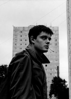 Ian Curtis Played by Sam Riley from 2007 film Control, Directed by Anton Corbijn