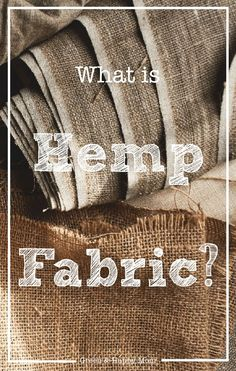 Next to the well known recreative use, hemp can also be used for other purposes. Read here how hemp is made into fabric. Sustainable Fabrics, Sustainable Living, Sustainable Fashion, Ethical Fashion, Ethical Clothing, Slow Fashion, Waste Reduction, Nuclear Disasters, Green Living Tips