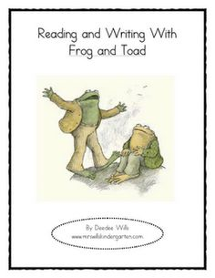 Frog and Toad  reading and writing handouts. Oh, how I do love Frog and Toad!