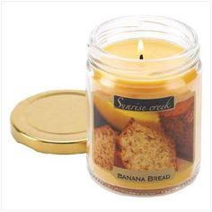 Banana Bread Scent Candle