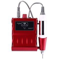 30000 RMP Nail Drill Machine Portable Electric Manicure Pedicure Tools Kit Set Nail Art Equipment US Plug E0454