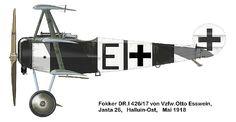 Fokker DR.1 Otto Esswein.