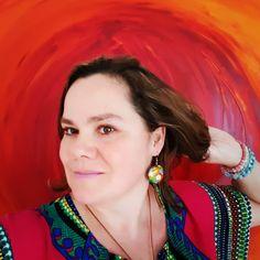 Janzsó Barbara Artist Drop Earrings, Artist, Jewelry, Fashion, Watercolor Painting, Moda, Jewlery, Jewerly, Fashion Styles