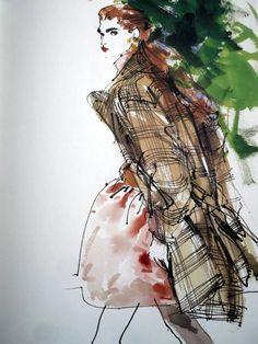 KENNETH PAUL BLOCK #fashion_illustration