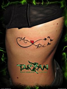 infinity tattoos | infinity birds tarzan tattoo - Tattoo Artists.org