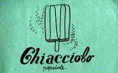 Learning Italian Language ~ chiacciolo (Popsicle) IFHN