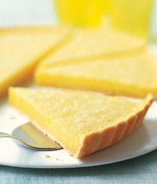 Recipe: Classic lemon tart