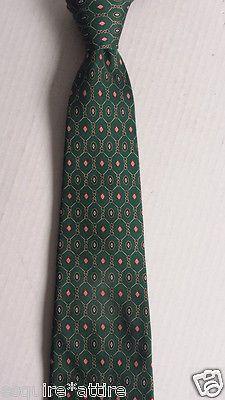 Tommy Hilfiger men neck dress #silk tie green with pattern Tommyhilfiger visit our ebay store at  http://stores.ebay.com/esquirestore