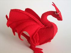 another really neat plush dragon pattern
