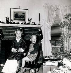 Christmas morning 1950