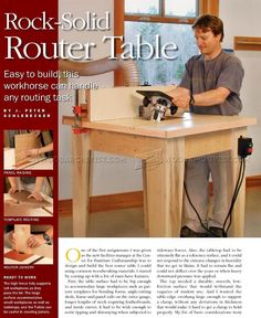 #1949 Build Router Table - Router