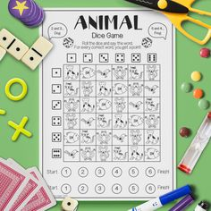 Animal 'Dice Game'