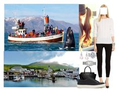 """""""Royal Tour of Iceland: Day 2-Visiting Húsavík village and participating in a whale safari"""" by crownprincesselizabeth ❤ liked on Polyvore featuring MICHAEL Michael Kors and Michele"""