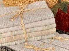 Snow Wool Appliqué Bundle from The Merry Hooker Woolens