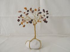Your place to buy and sell all things handmade White Pebbles, Work With Animals, Wire Trees, Handmade Wire, Jasper Gemstone, Tree Of Life, Third Eye, Plexus Products, Healing Stones