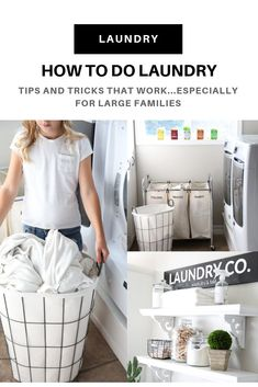 Looking for a more organized and efficient way to do your laundry? Have a large family and struggling to keep on top of the mountains of laundry? Check out our laundry tips and tricks, with the help of our new Maytag front load washer and dryer!