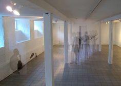 Human Time Mapping Art - The Pia Männikkö's 'Déjà Vu' Series Turns into a Ghostl (GALLERY)
