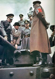 Hitler and Ferdinand Porsche (3) | GLORY. The largest archive of german WWII images | Flickr
