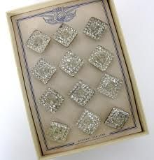 vintage glass buttons - Google Search