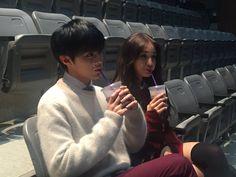 somi and ulzzang image Ulzzang Couple, Ulzzang Girl, Cute Couples Goals, Couple Goals, Cute Korean, Korean Girl, Up10tion Wooshin, Korean Best Friends, Jeon Somi