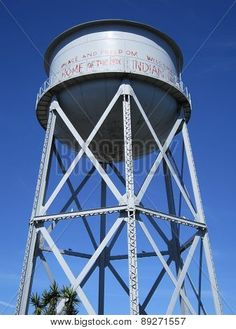 Photograph of water tower at Alcatraz, California. Photographs by Sharon Patterson may be PURCHASED at: http://1-sharon-patterson.fineartamerica.com AND http://canstockphoto.com/stock-image-portfolio/SharonPatterson AND http://www.bigstockphoto.com/search/?contributor=Sharon%20Patterson&safesearch=n