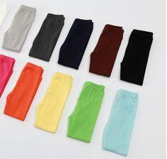 2015 spring 12 candy colors super comfortable fabric kids leggings for retailer  #kidslegging  #legging  #girl #boy#clothingfabric #fashion #spring #2015 #ukkids #aukids #nzkids #candycolors #candy #yunhuigarment #retailer #Wholesaler #babygirl #babykids