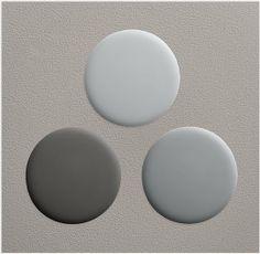 Paint Color Portfolio: Pale Gray Kitchens