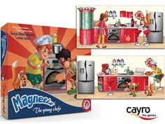Magnetiz, un juego de mesa magnético en 3D para niños de Cayro para vivir las aventuras de dos traviesos hermanos :)