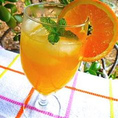 Allrecipes S Orangeade Looks Refreshing And Is Easy To Make Just Combine Simple Syrup
