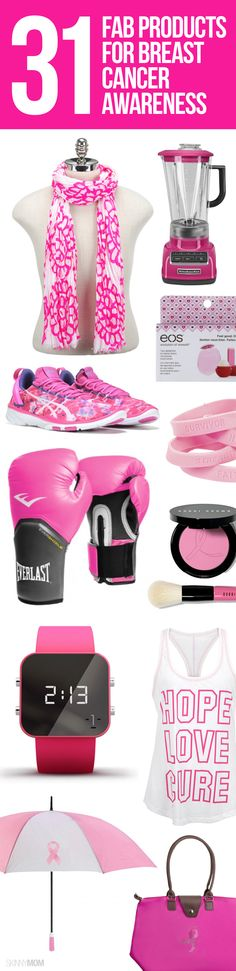 31 fabulous products for breast cancer awareness.