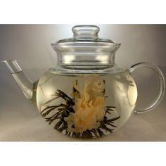 Flowering tea Writing Inspiration, Food Inspiration, Asian Tea, Flower Tea, Teapots, Teacup, Tea Time, Florals, Whimsical