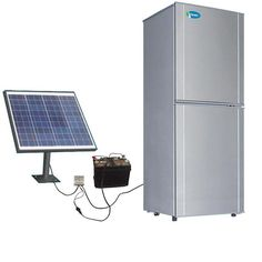 Go solar on your refrigerator.   If you ever have long power outages you'll save…