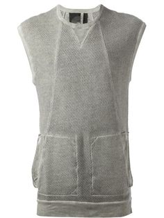 Silent Damir Doma Sleeveless Sweatshirt - Tom Greyhound - Farfetch.com