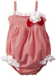 Amazon.com: Kate Mack Baby-Girls Newborn Regatta Swim Bubble: Baby