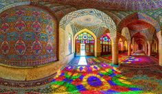 la sublime mosquée Nasir ol-Molk - Iran