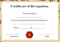 Certificate Of Appreciation Template For Word Amusing Certificate Of Recognition And Appreciation Template  Certificate .