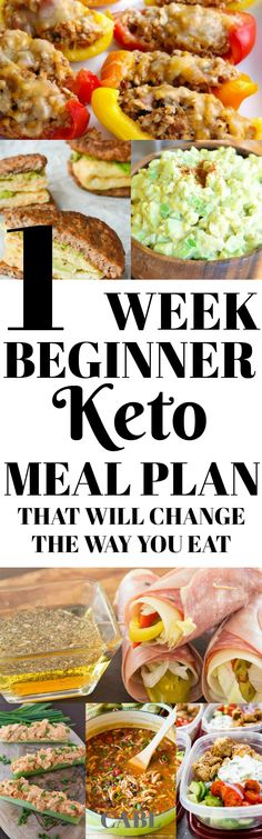 This 1 week Keto Challenge and diet recipes look so delicious! I love the stuffed p ., This 1 week Keto Challenge and Diet Recipes Look So DELISH! I love the stuffed p . This one week Keto Challenge and diet recipes look like DELISH! Ketogenic Recipes, Diet Recipes, Healthy Recipes, Recipies, Ketogenic Diet Plan, Beginner Ketogenic Diet, Fat Head Recipes, Ketogenic Diet Diabetes, Keto Recipes Dinner Easy