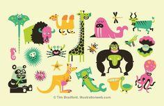 Bradford, Tim : Graphic Design, Children Books | The Red List