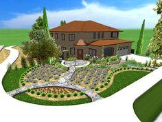 backyard landscape design - Buscar con Google