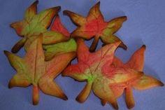 Keksz Blog: Levél alakú ősz keksz