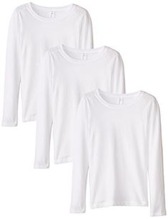 Clementine Apparel Girls Tween Short Sleeve V Neck T-Shirt SoftComfort Tee Shirt